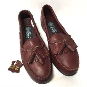 3/$50 NWT Rugged Outback Oxblood leather loafers 6